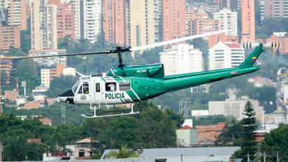 PNC-0494 - Colombia - Police Bell 212