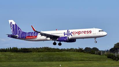 B-LEC - Hong Kong Express Airbus A321