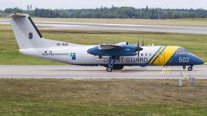 SE-MAB - Sweden - Coastguard de Havilland Canada DHC-8-300Q Dash 8