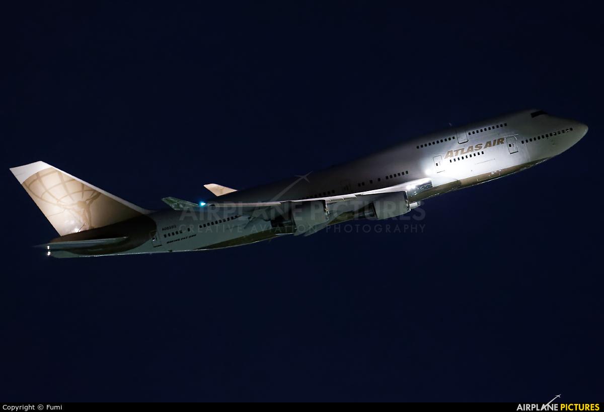 Atlas Air N263SG aircraft at Tokyo - Haneda Intl