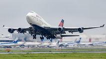 N670US - Delta Air Lines Boeing 747-400 aircraft