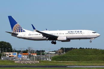 N77296 - United Airlines Boeing 737-800