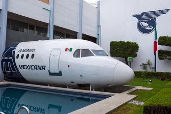 XA-MXA0721 - Mexicana Fokker 100