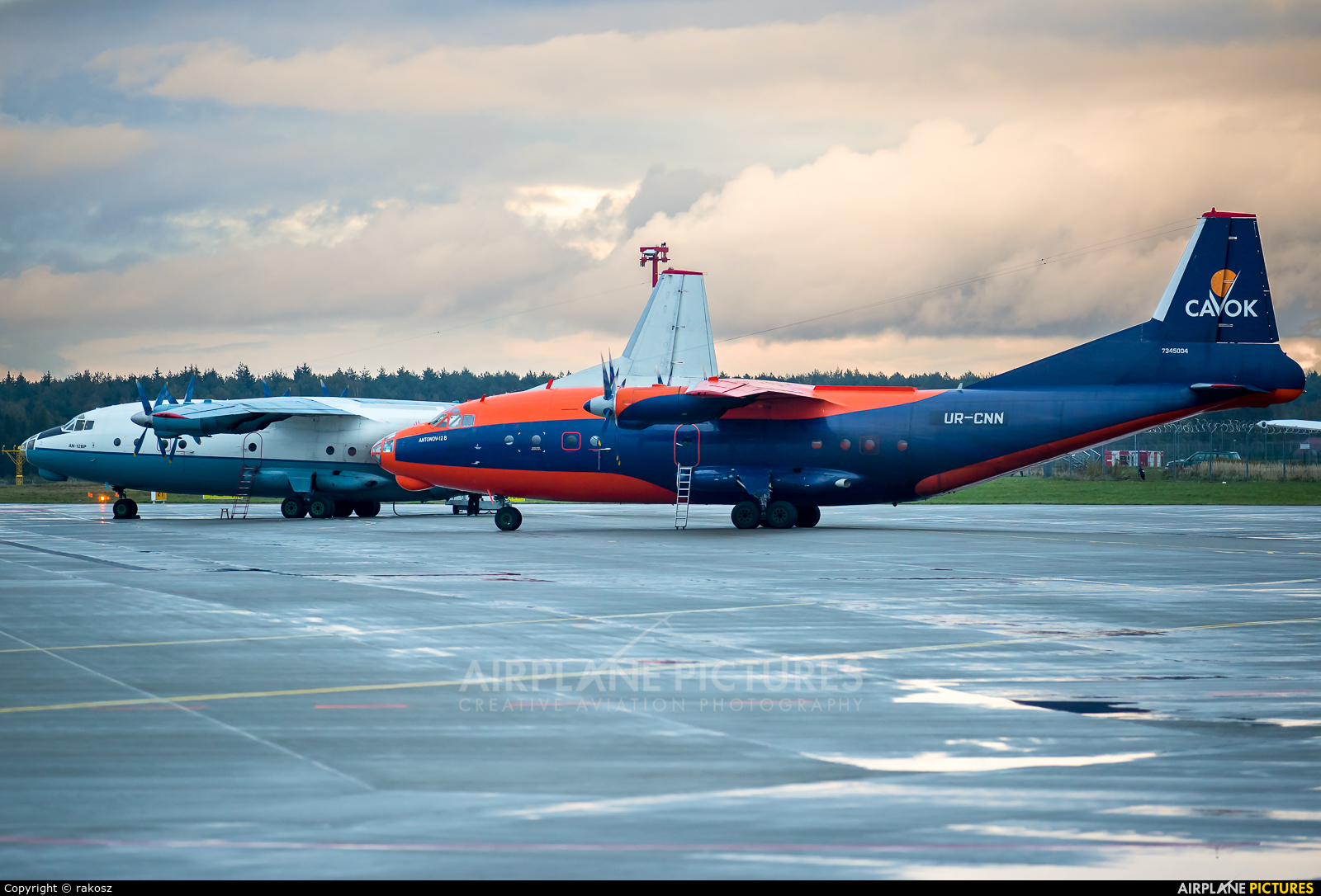 Cavok Air UR-CNN aircraft at Katowice - Pyrzowice