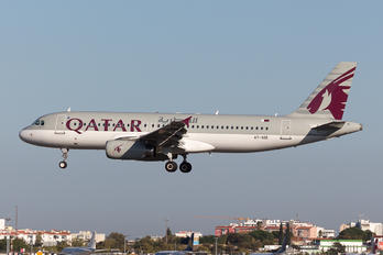 A7-ADE - Qatar Airways Airbus A320