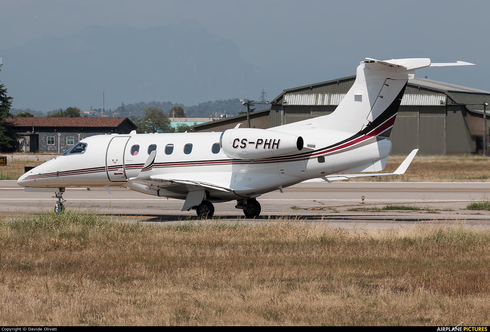NetJets Europe (Portugal) CS-PHH aircraft at Verona - Villafranca