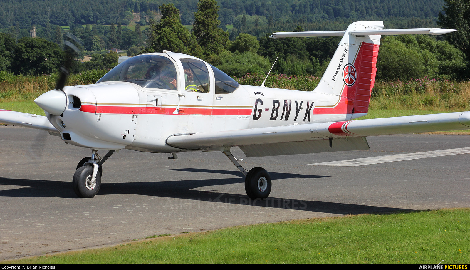 Private G-BNYK aircraft at Welshpool