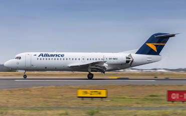 VH-NKU - Alliance Airlines Fokker 70