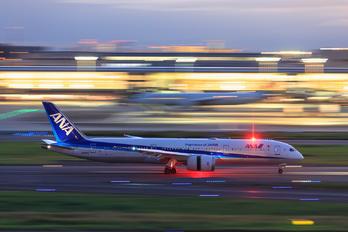 JA884A - ANA - All Nippon Airways Boeing 787-9 Dreamliner