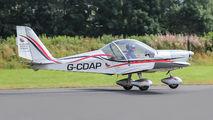 G-CDAP - Private Evektor-Aerotechnik EV-97 Eurostar aircraft