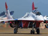 07 - Russia - Air Force Mikoyan-Gurevich MiG-29UB aircraft