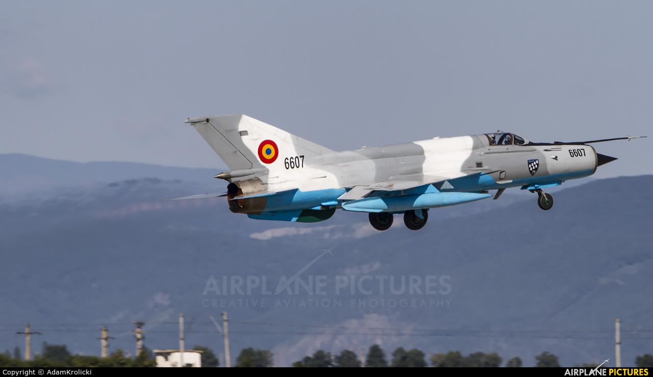 Romania - Air Force 6607 aircraft at Câmpia Turzii