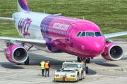 HA-LPQ - Wizz Air Airbus A320 aircraft