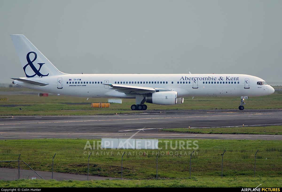 Abercrombie & Kent (Icelandair) TF-FIW aircraft at Auckland Intl