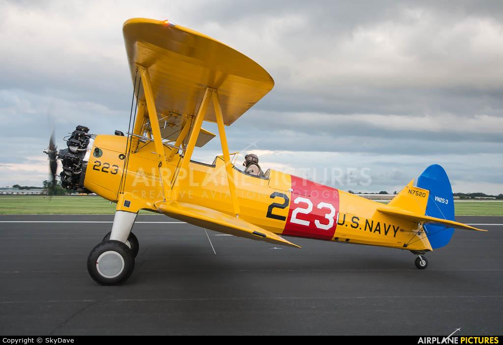 Private N7520 aircraft at Oshkosh - Wittman Regional