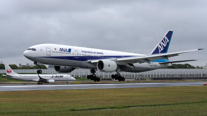 JA741A - ANA - All Nippon Airways Boeing 777-200