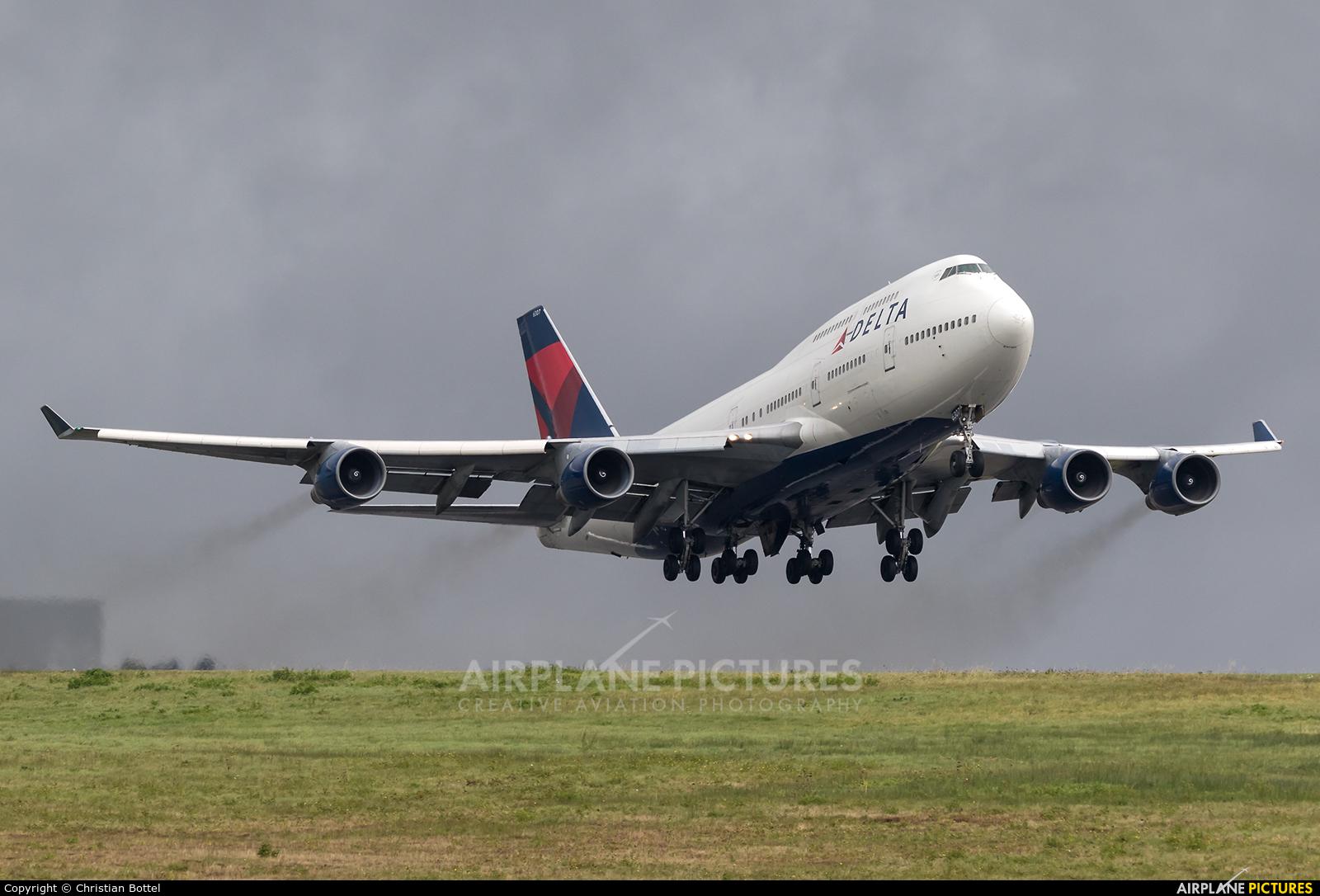 Delta Air Lines N667US aircraft at Frankfurt - Hahn