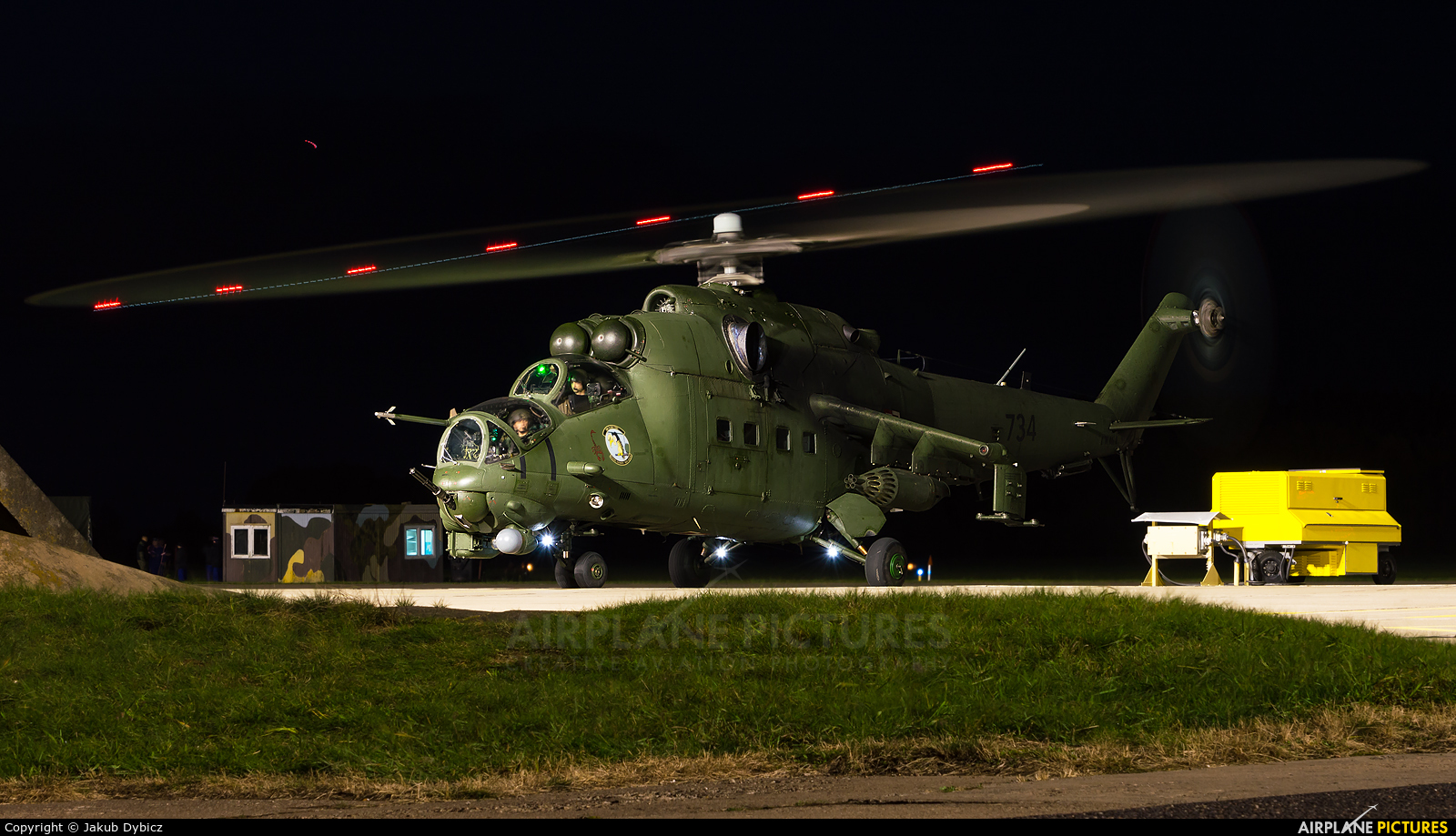 Poland - Army 734 aircraft at Mirosławiec