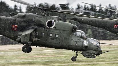 729 - Poland - Air Force Mil Mi-24D