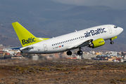 YL-BBQ - Air Baltic Boeing 737-500 aircraft