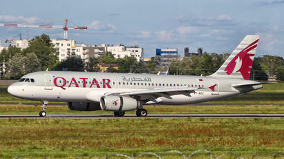 A7-ADG - Qatar Airways Airbus A320