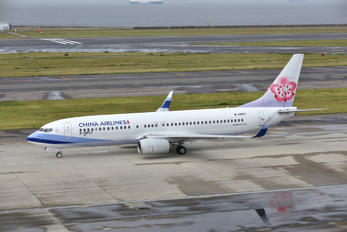 B-18653 - China Airlines Boeing 737-800