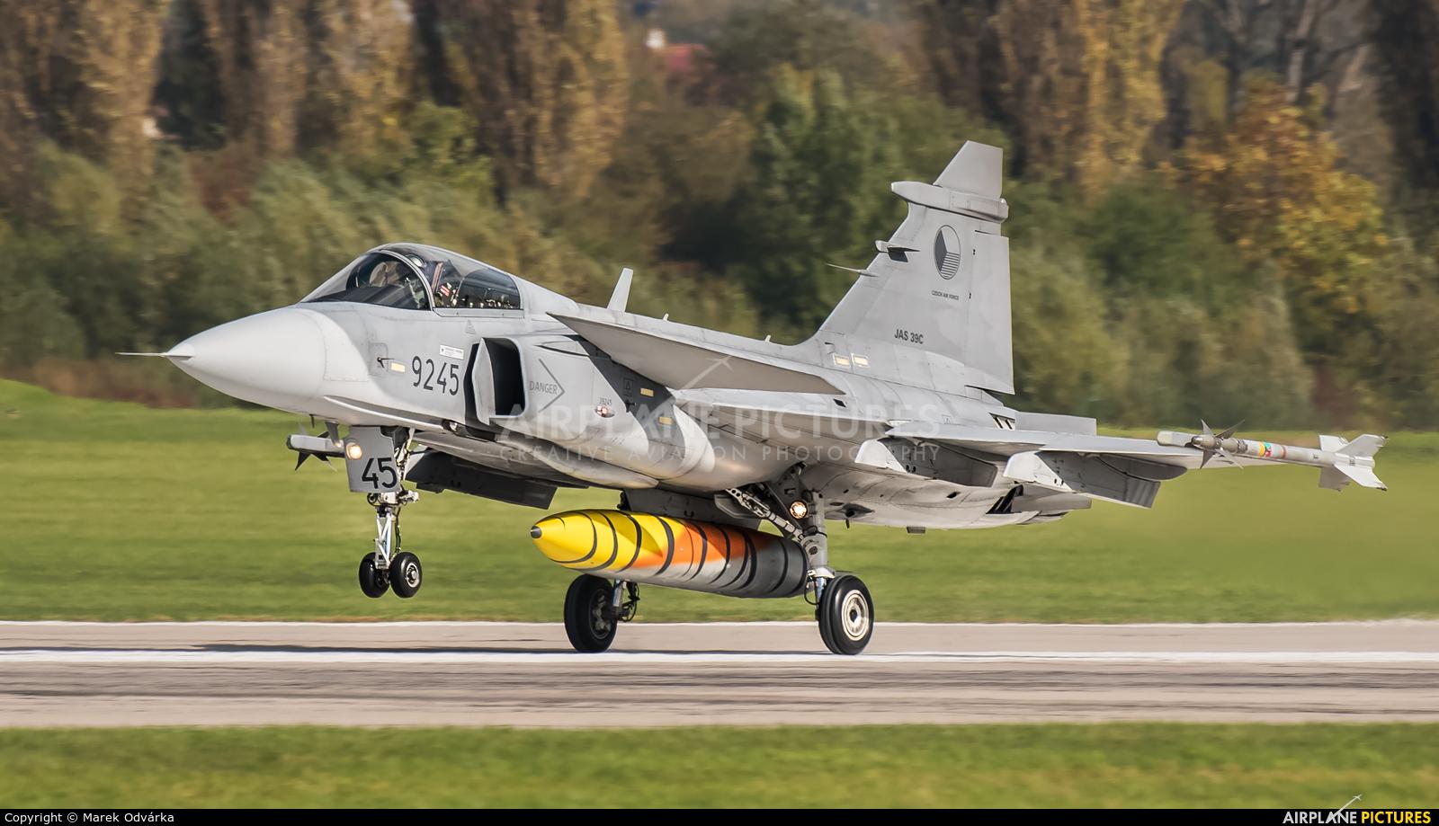 Czech - Air Force 9245 aircraft at Pardubice
