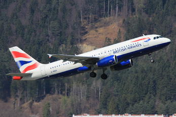 G-MIDX - British Airways Airbus A320