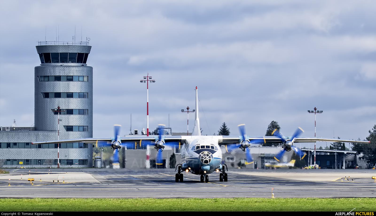 Cavok Air UR-CEZ aircraft at Rzeszów-Jasionka
