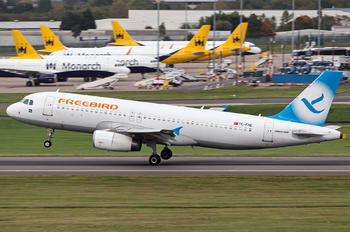 TC-FHE - FreeBird Airlines Airbus A320