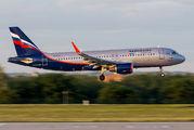 VP-BJA - Aeroflot Airbus A320 aircraft
