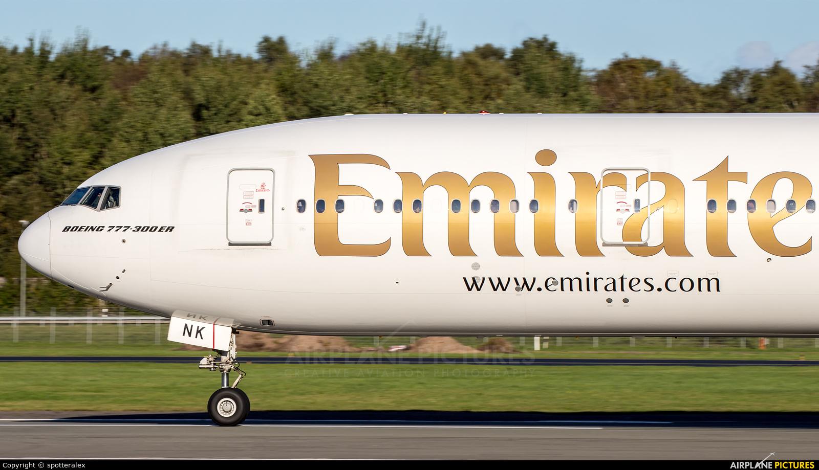 Emirates Airlines A6-ENK aircraft at Hamburg - Fuhlsbüttel