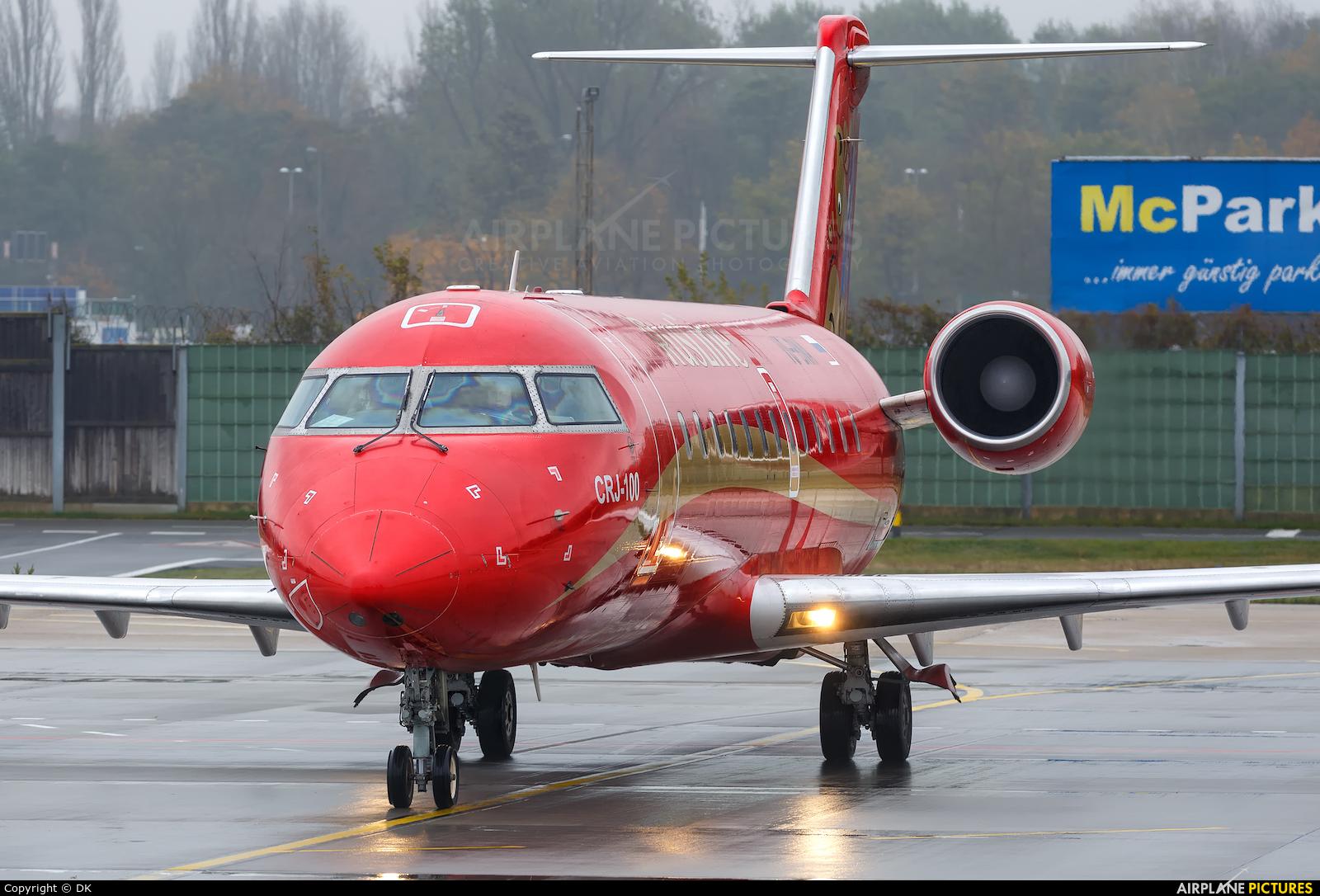 Rusline VQ-BNA aircraft at Berlin - Tegel