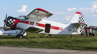 SP-KBA - Fundacja Biało-Czerwone Skrzydła PZL An-2