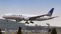 N785UA - United Airlines Boeing 777-200ER aircraft