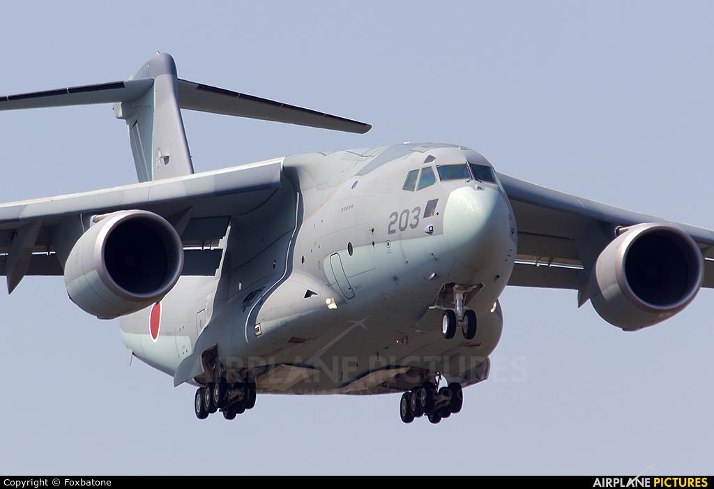 Japan - Air Self Defence Force 68-1203 aircraft at Mumbai - Chhatrapati Shivaji Intl