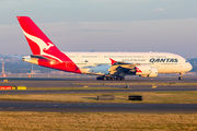 VH-OQL - QANTAS Airbus A380 aircraft