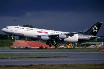 D-AIBA - Lufthansa Airbus A340-200