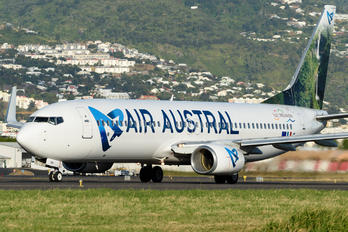 F-ONGA - Air Austral Boeing 737-800