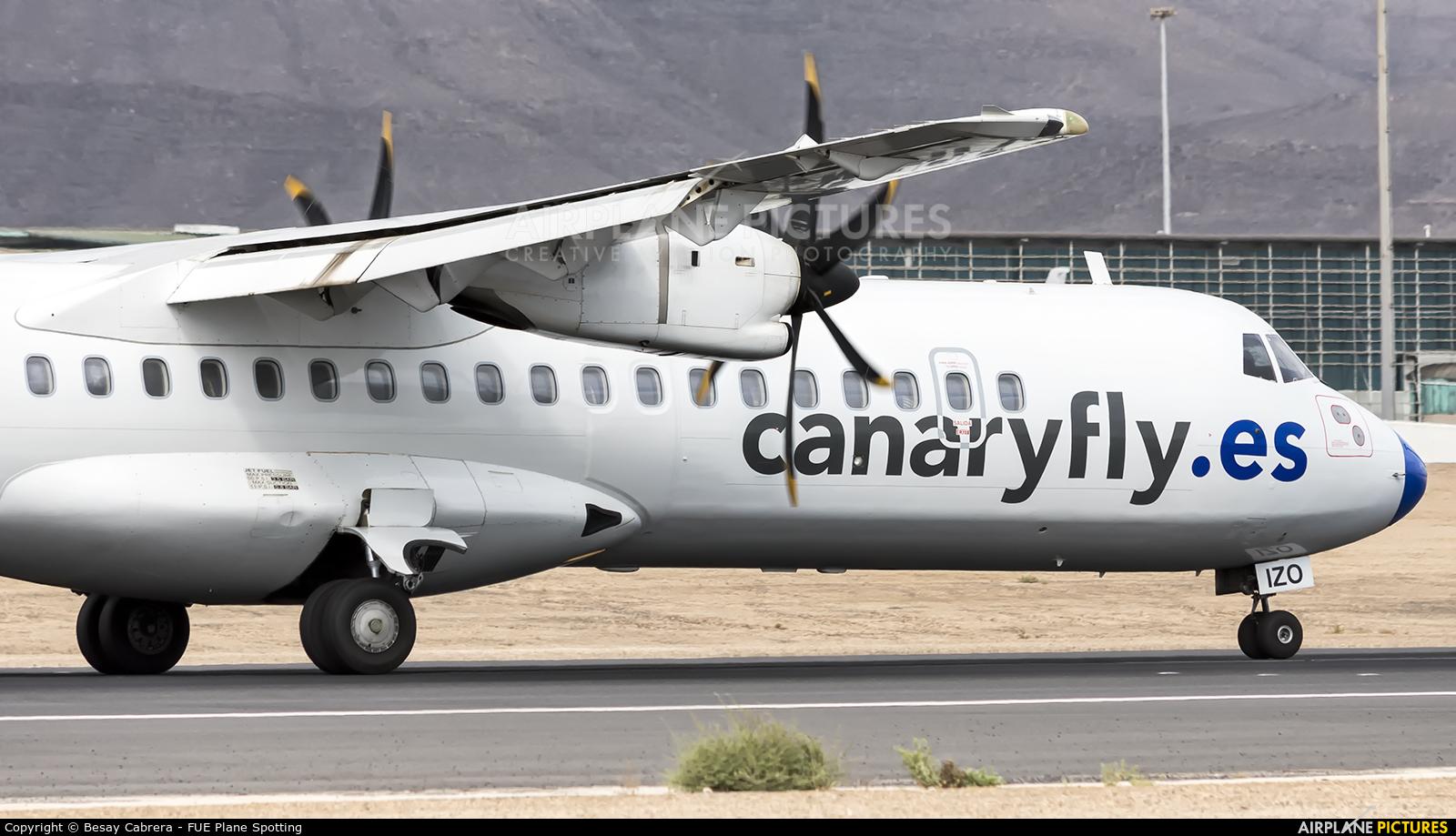 CanaryFly EC-IZO aircraft at Fuerteventura - Puerto del Rosario