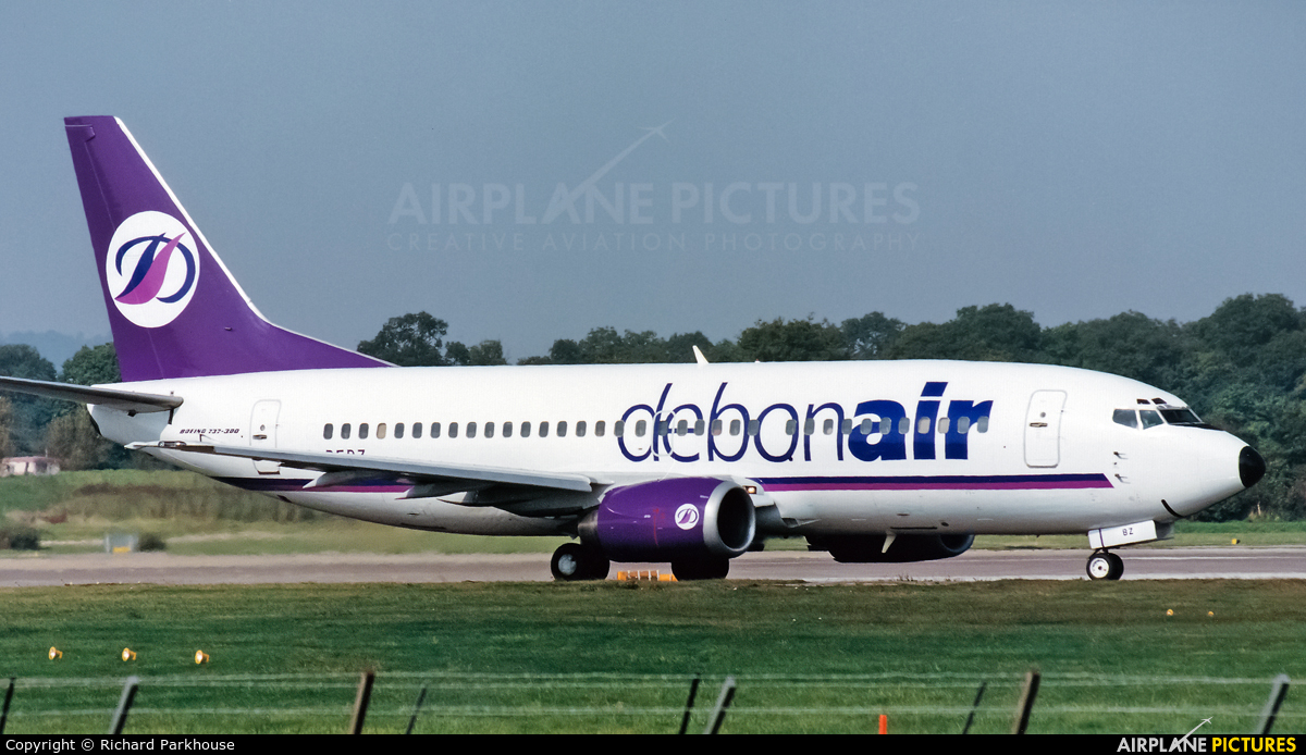 Debonair G-DEBZ aircraft at London - Gatwick