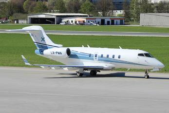 LX-PMA - Luxaviation Bombardier BD-100 Challenger 300 series