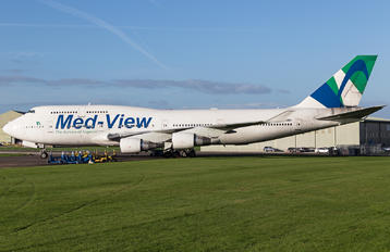 TF-AMV - Med-View Airline Boeing 747-400