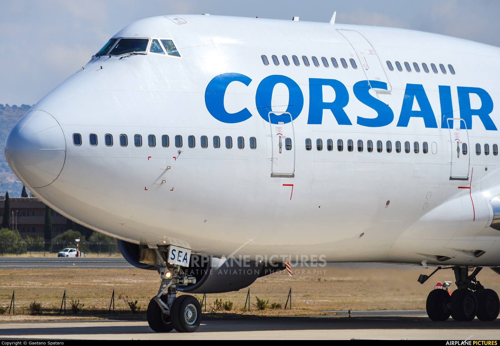 Corsair / Corsair Intl F-HSEA aircraft at Comiso - Sicily