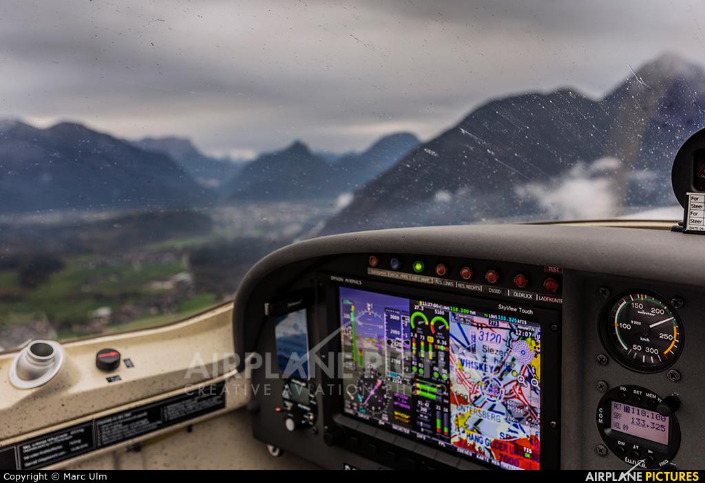 Private D-MSVS aircraft at Salzburg