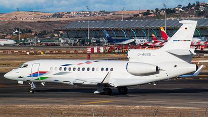 D-AGBE - Volkswagen Air Services Dassault Falcon 7X
