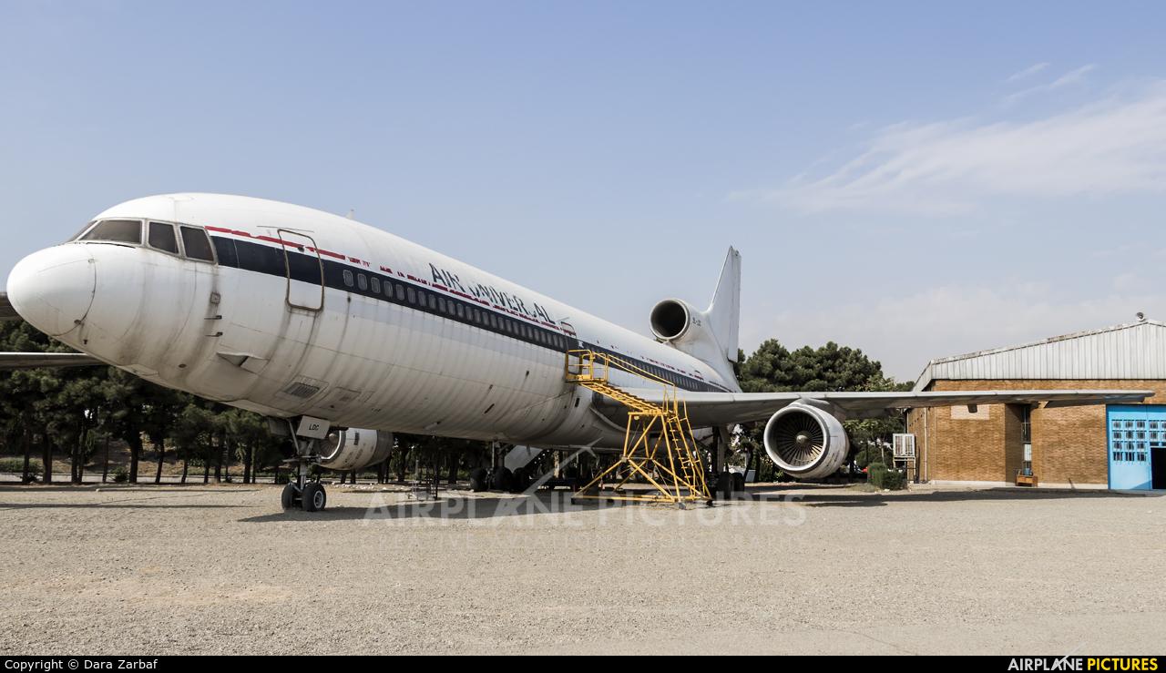 Air Universal 9L-LDC aircraft at Tehran - Mehrabad Intl