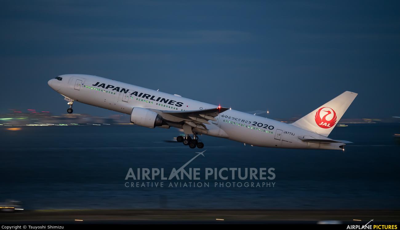 JAL - Japan Airlines JA773J aircraft at Tokyo - Haneda Intl