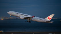 JA773J - JAL - Japan Airlines Boeing 777-200 aircraft
