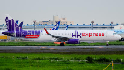 B-LED - Hong Kong Express Airbus A321
